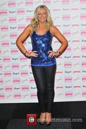 Michelle Mone,  The Comfort Prima High Street Fashion Awards at Battersea Evolution Marquee - Arrivals. London, England. 13.09.12