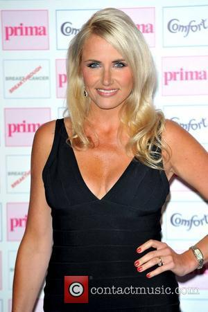 Nancy Sorrell,  The Comfort Prima High Street Fashion Awards at Battersea Evolution Marquee - Arrivals. London, England. 13.09.12