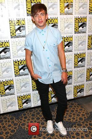 Kevin McHale San Diego Comic-Con 2012 - 'Glee' - Press Room San Diego, California - 14.07.12