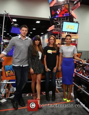 Lea Michele, Cory Monteith and Naya Rivera