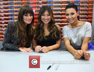 Lea Michele, Jenna Ushkowitz and Naya Rivera
