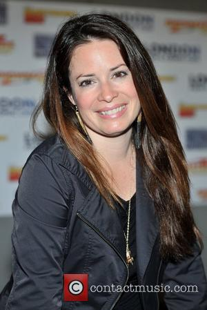 Holly Marie Combs London Film & Comic Con held at Olympia Grand Hall. London, England - 07.07.12