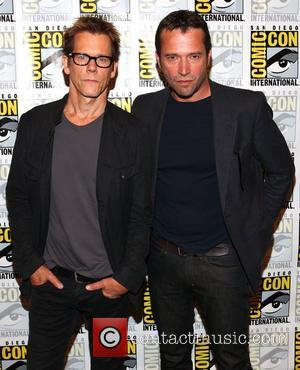 Kevin Bacon and James Purefoy