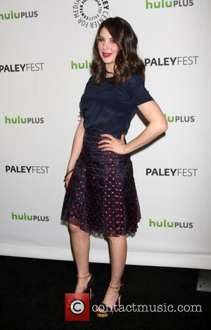 Alison Brie  The Community Event at PaleyFest 2012 held at the Saban Theater - Arrivals Los Angeles, California -...