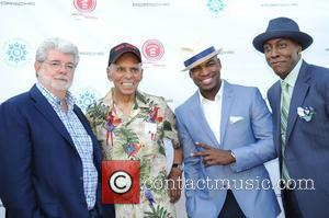 George Lucas, Roscoe Brown, Ne-Yo, Arsenio Hall 1st Annual Compound Foundation 'Fostering A Legacy' Benefit  East Hampton, New York...