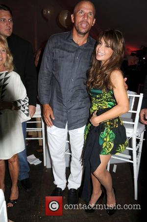 Jason Kidd and Paula Abdul
