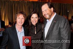Dana Carvey, Lynne Benioff and Marc Benioff
