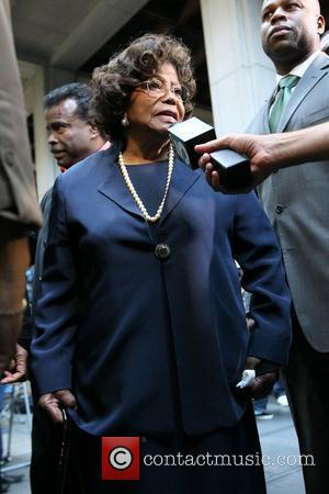 Katherine Jackson Sentencing day in the Conrad Murray involuntary manslaughter trial at Los Angeles Superior Court - Departures Los Angeles,...