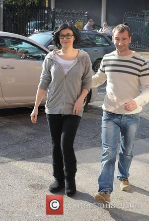 Kym Marsh and Charlie Condou 'Coronation Street' cast outside Granada Studios Manchester, England - 01.03.12