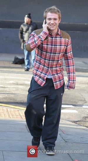 Chris Fountain 'Coronation Street' cast outside Granada Studios Manchester, England - 19.01.12
