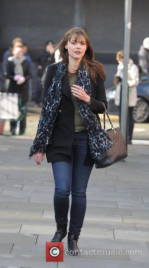 Kate Ford 'Coronation Street' cast outside Granada Studios Manchester, England - 19.01.12