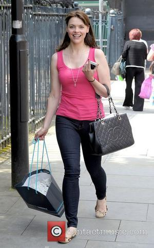 Kate Ford,  at Granada Studios for filming ITV soap Coronation Street Manchester, England - 26.07.12