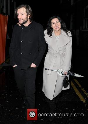 Alison King and Adam Huckett The 'Coronation Street' Christmas party at Suede nightclub Manchester, England - 09.12.11