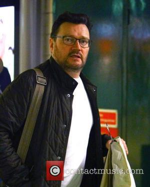 Ian Puleston-Davies The cast of Coronation Street arrive at Euston Station to head back to Manchester after attending the National...