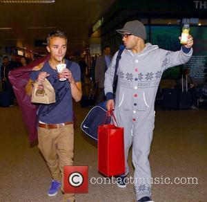Jack P. Shepherd and Ryan Thomas The cast of Coronation Street arrive at Euston Station to head back to Manchester...