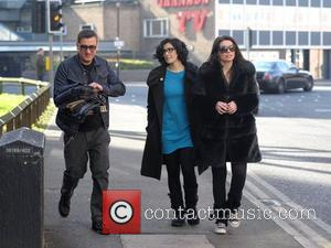Chris Gascoyne, Kym Marsh and Alison King 'Coronation Street' cast members take a break from filming to head out for...