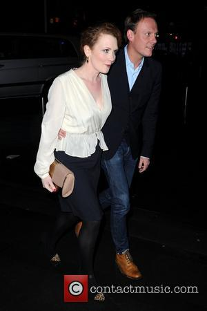 Antony Cotton and Jennie Mcalpine