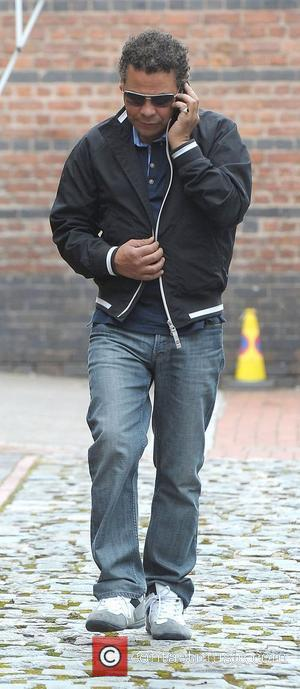 Craig Charles,  Granada Studios to film an episode of ITV's Coronation Street Manchester, England - 05.07.12