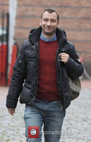 Charlie Condou outside Granada Studios Manchester Manchester, England - 16.12.11