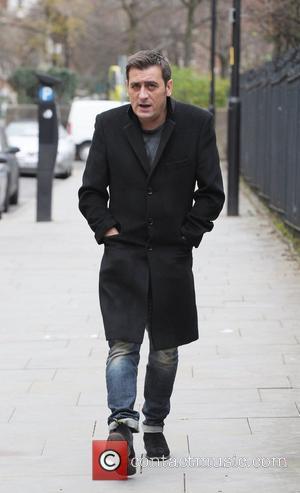 Chris Gascoyne outside Granada Studios Manchester Manchester, England - 16.12.11