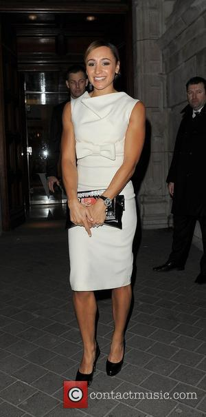 Jessica Ennis Cosmopolitan Ultimate Woman Of The Year Awards - Departures London, England - 30.10.12