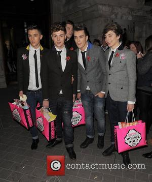 X Factor, Jamie Hamblett, Jaymi Hensley, Josh Cuthbert, George Shelley and Union J