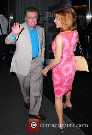 Regis Philbin and Joy Philbin,  New York Premiere of 'Cosmopolis' held at The Museum of Modern Art - Outside...