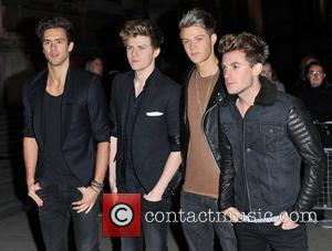 Andy Brown, Joel Peat, Ryan Fletcher and Adam Pitts of Lawson Cosmopolitan Ultimate Women Of The Year Awards held at...