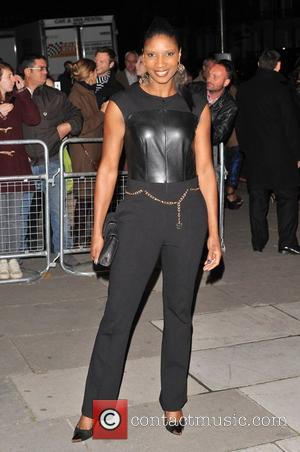 Denise Lewis Cosmopolitan Ultimate Women Of The Year Awards held at the Victoria and Albert Museum - Arrivals London, England...