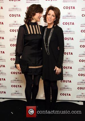 Natasha Kaplinsky and Katie Derham