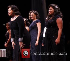 Carmen Ruby Floyd, La Tanya Hall, Amber Riley and Cast