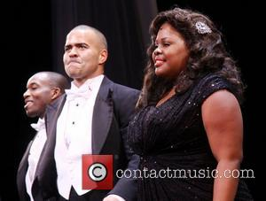 Christopher Jackson, Amber Riley and Cast