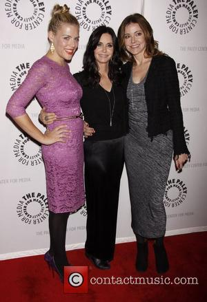 Busy Philipps, Christa Miller, Courteney Cox and Paley Center For Media