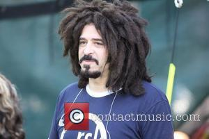 Adam Duritz of Counting Crows GMA presents the music of the Counting Crows at Rumsey play feld in Central Park...