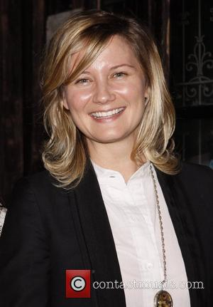 Jennifer Nettles Country music stars visit the cast of the Tony Award winning musical 'Avenue Q' at the New World...