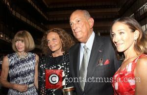 Anna Wintour, Diane Von Furstenberg, Oscar De La Renta and Sarah Jessica Parker
