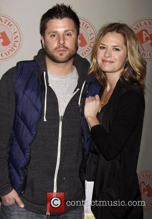 James Roday and Maggie Lawson