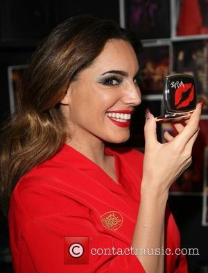 Kelly Brook at her surprise 33rd birthday backstage at her final show with Crazy Horse at The Forever Crazy Spiegel...