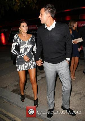 John Terry and wife Toni Terry outside the Crazy Horse Cabaret club London, England - 06.10.12