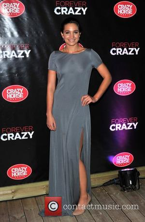 Laura Wright Crazy Horse Premiere held on London's South Bank - Arrivals. London, England - 19.09.12
