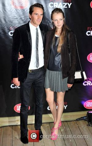 Otis Ferry and Edie Campbell Crazy Horse Premiere held on London's South Bank - Arrivals. London, England - 19.09.12