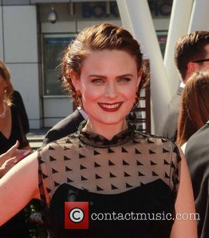 Emily Deschanel 2012 Creative Arts Emmy Awards, held at Nokia Theatre - Arrivals Los Angeles, California - 15.09.12