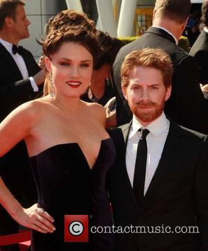 Clare Grant, Seth Green 2012 Creative Arts Emmy Awards, held at Nokia Theatre - Arrivals Los Angeles, California - 15.09.12