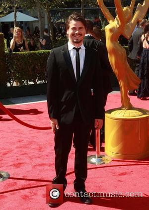 Jason Ritter 2012 Creative Arts Emmy Awards, held at Nokia Theatre - Arrivals Los Angeles, California - 15.09.12
