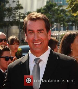 Rob Riggle 2012 Creative Arts Emmy Awards, held at Nokia Theatre - Arrivals Los Angeles, California - 15.09.12