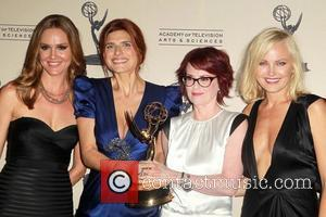 Lake Bell, Malin Akerman and Megan Mullally