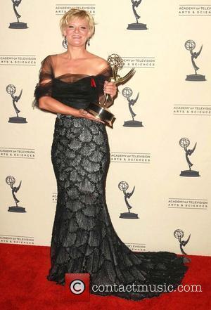 Martha Plimpton   2012 Creative Arts Emmy Awards held at the Nokia Theatre - Press Room Los Angeles, California...