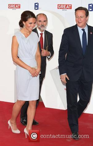 Catherine, Duchess of Cambridge (aka Kate Middleton) and David Cameron The UK's Creative Industries Reception supported by the Foundation Forum,...