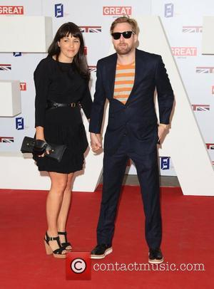 Ricky Wilson and girlfriend The UK's Creative Industries Reception supported by the Foundation Forum at the Royal Academy of Arts...