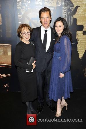 Una Stubbs, Lara Pulver and Benedict Cumberbatch